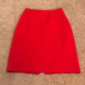 H&M Pencil Skirt - Red